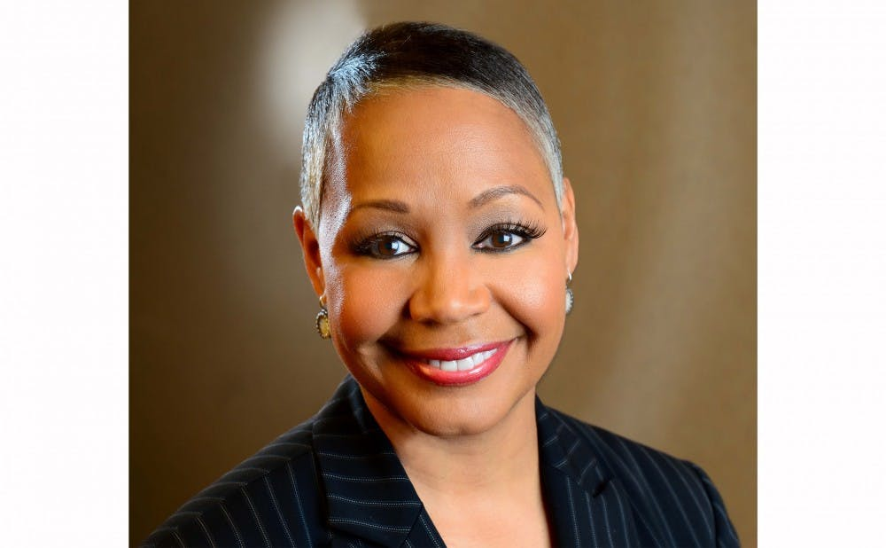 <p>Lisa Borders, Trinity '79, is a member of the Board of Trustees.&nbsp;</p>