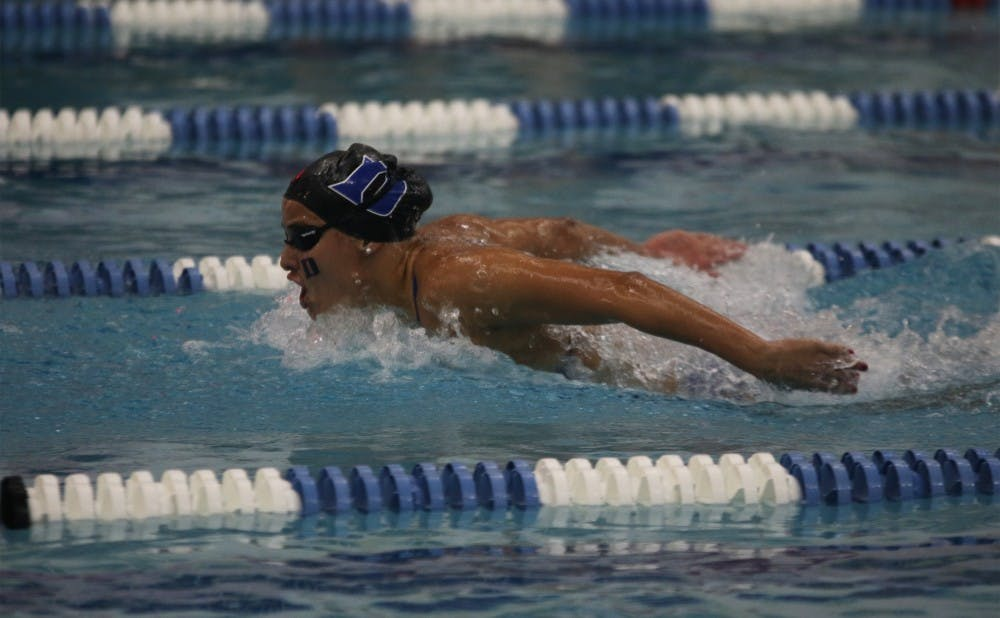 <p>The Blue Devils sent a record seven women to the NCAA championships but could not beat any of their career-best times in Atlanta.</p>