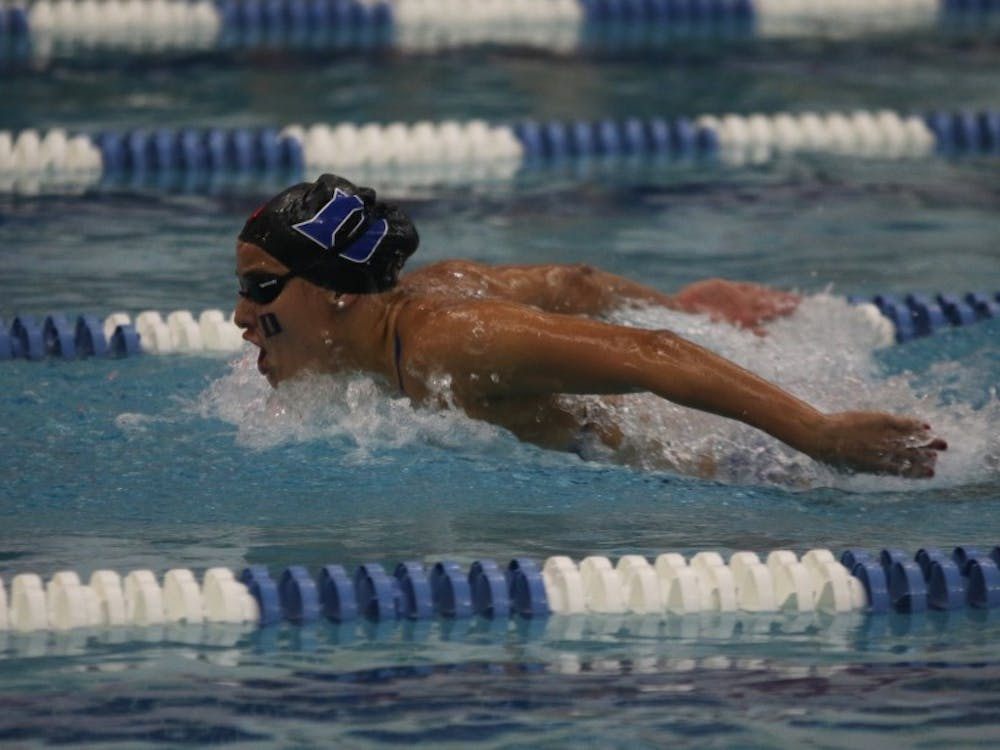 The Blue Devils sent a record seven women to the NCAA championships but could not beat any of their career-best times in Atlanta.