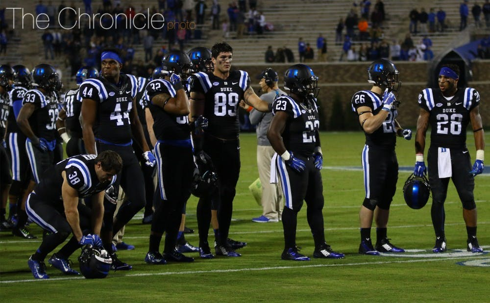 <p>The Blue Devils must quickly move on from Saturday's game against Miami if they hope to stay alive in the race for the ACC Coastal Division crown.</p>