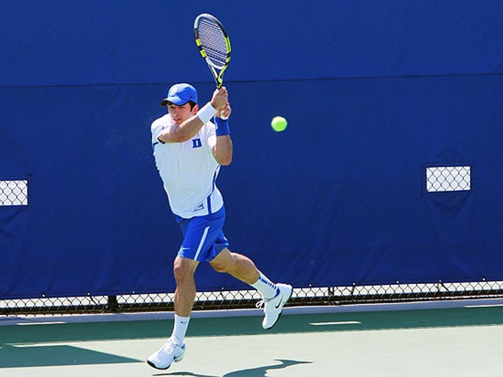 Henrique Cuhna will put his undefeated singles record on the line one again when Duke takes the court this weekend