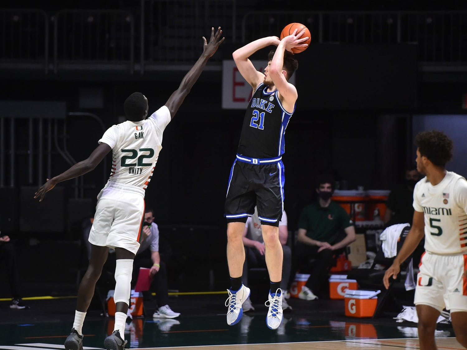Sophomore Matthew Hurt has filled up the stat sheet all year long, and Duke's going to need him to do it again against North Carolina.