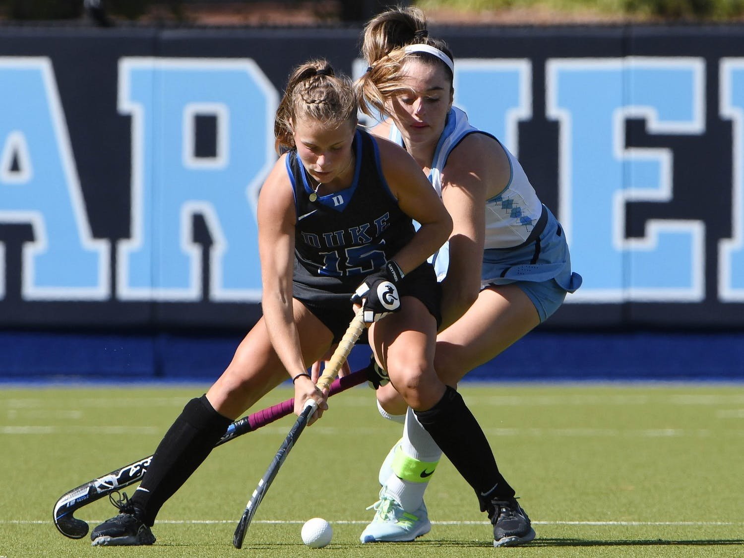 Duke fought until the very end Sunday against one of the top teams in the country.