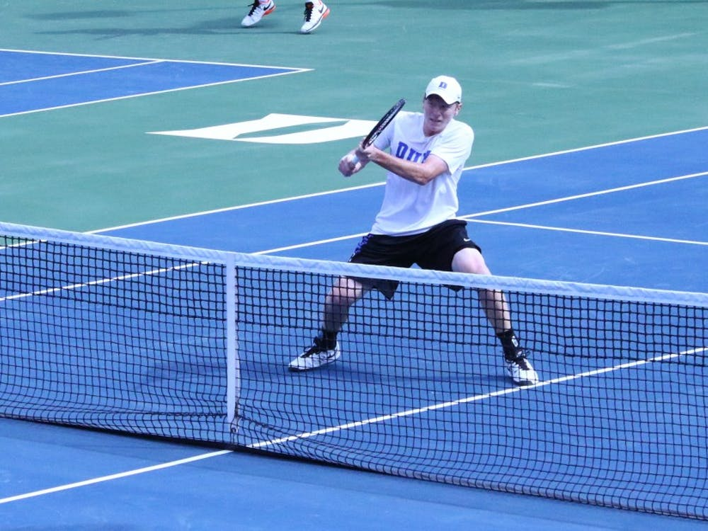 Freshman Ryan Dickerson clinched both of Duke's victories Sunday against Louisville and N.C. Central.