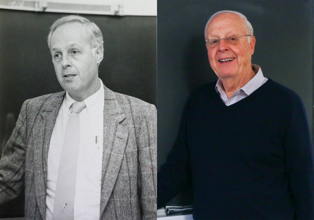 Left: 1988, by Tom Lattin   Right: Feb. 7, 2018, by Bre Bradham