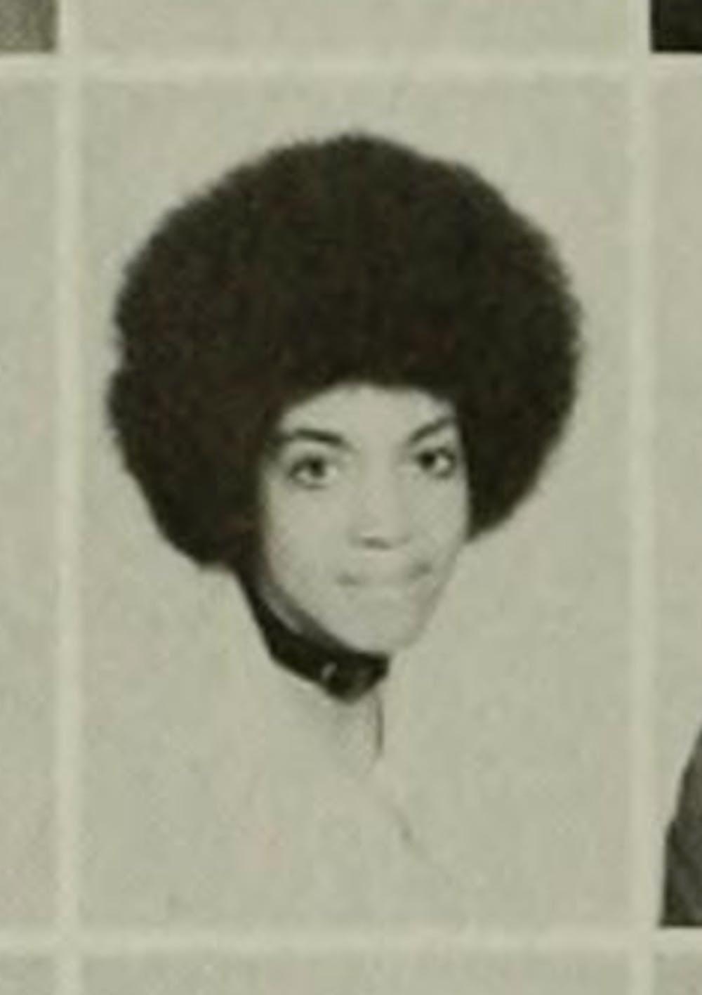 Catherine LeBlanc as a senior   Chanticleer, 1971