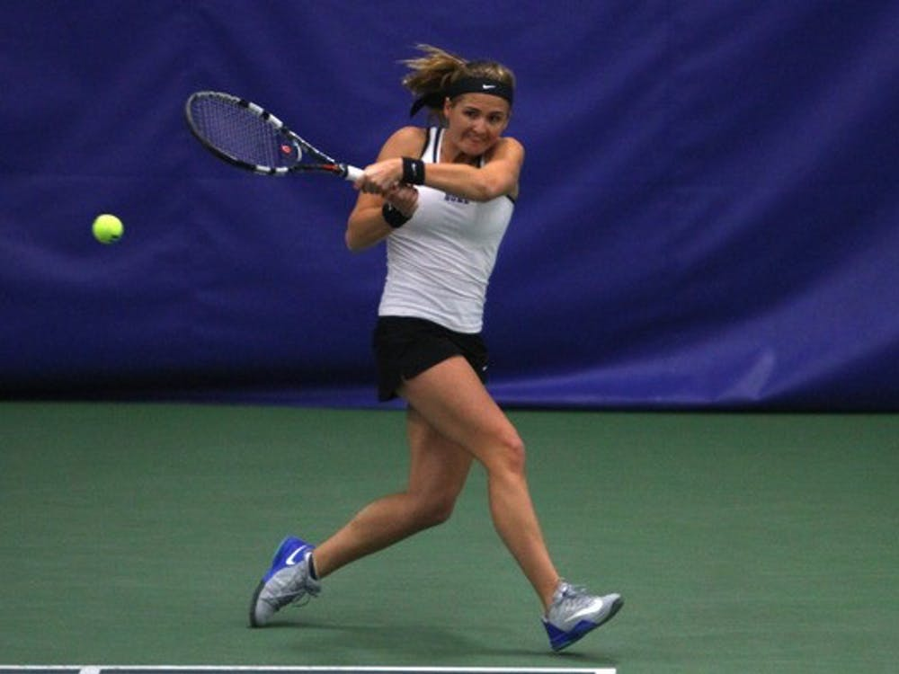Annie Mulholland and the Blue Devils made quick work of the Eagles and Orange this weekend.