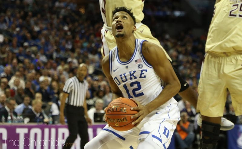 Javin DeLaurier's finishing ability has been in question all year, but he could silence the doubters in Duke's tournament journey.