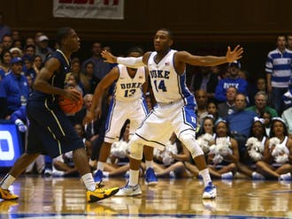 The Blue Devil defense has stepped up its intensity and efficiency in Duke's past two victories at Louisville and against Pittsburgh.