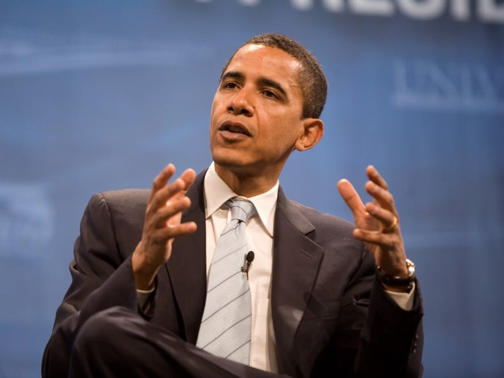 Former U.S. President Barack Obama may be one of the celebrities visiting Cameron Indoor for Wednesday's Duke-North Carolina game.