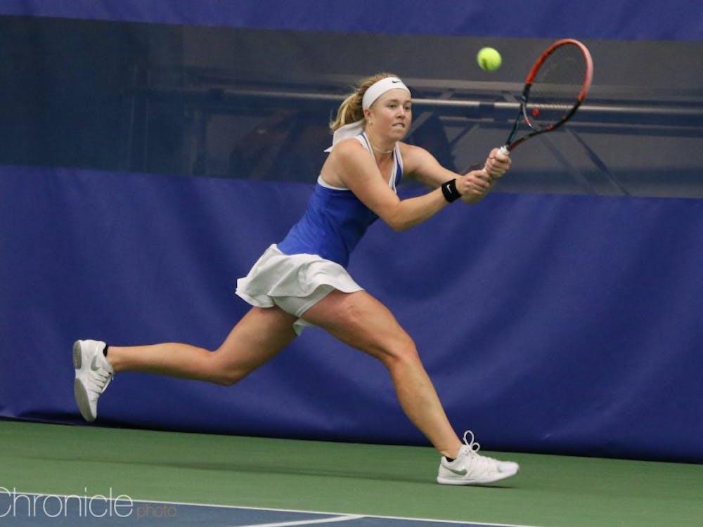 Kaitlyn McCarthy's 25-match singles winning streak ended this weekend.