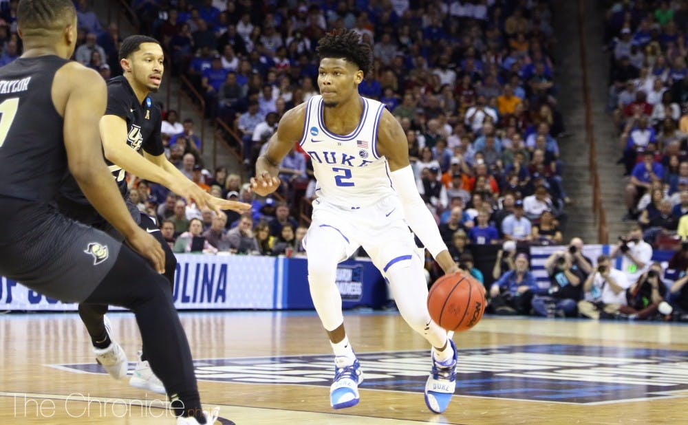 Cam Reddish struggled with foul trouble yet again, but his 3-pointer to pull Duke within one was as clutch a shot as any.