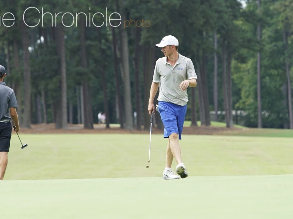 Rookie Chandler Eaton has established himself as one of the Blue Devils' best putters already and posted two top-five finishes last fall.