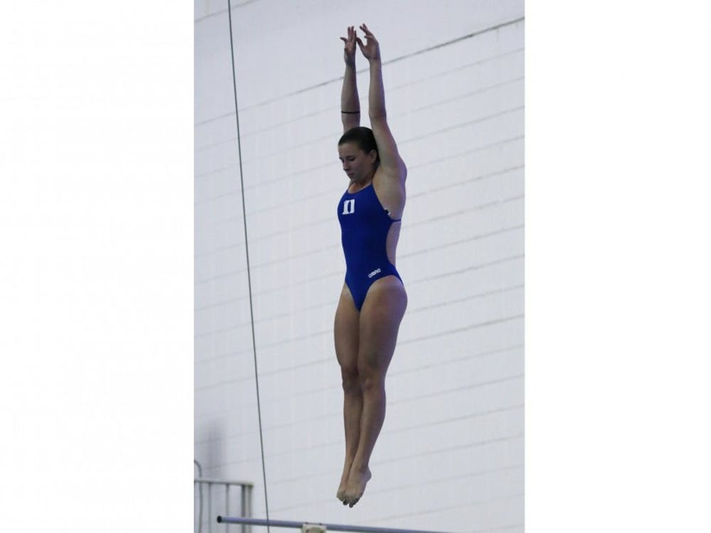 Sophomore MaryEllen Targonski and the Blue Devil divers will try to create a figurative splash without making a literal one at the NCAAZone B Diving Championships starting Monday.