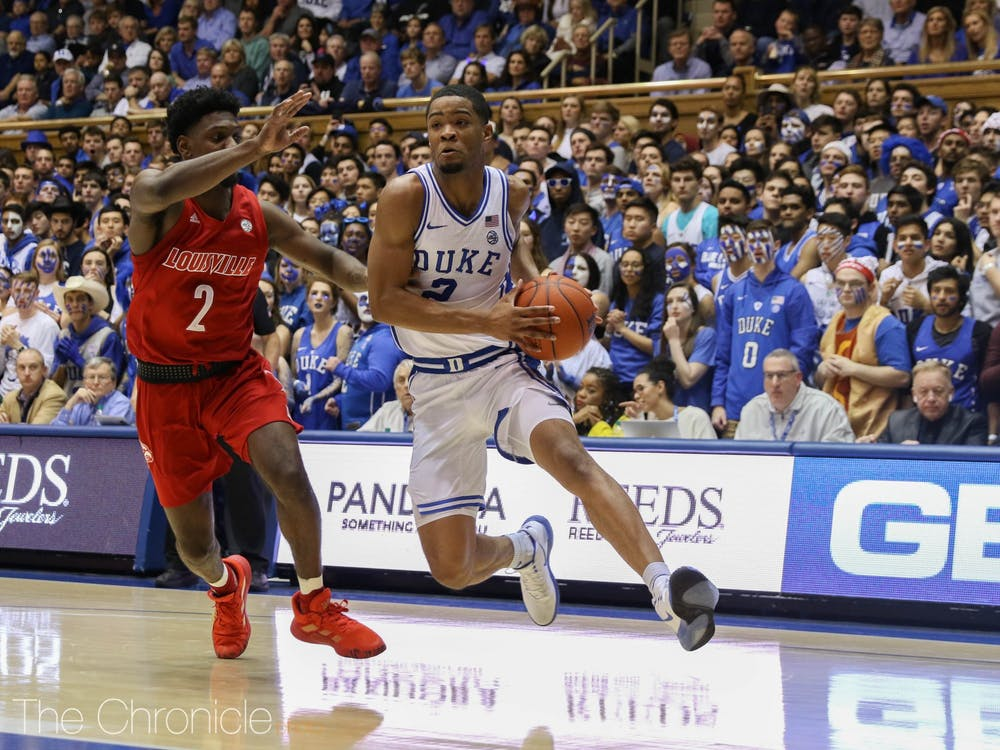 Cassius Stanley was the driving force behind Duke's comeback effort Saturday.