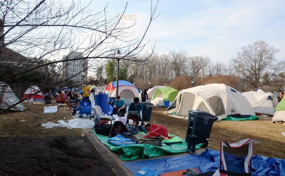 <p>The number of total tents is still expected to be capped at 100 at this time to allow for students to get in to the North Carolina game via the walk-up line.&nbsp;</p>