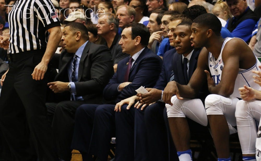 <p>The Blue Devil coaches have been working to add to their three-man Class of 2017.&nbsp;</p>