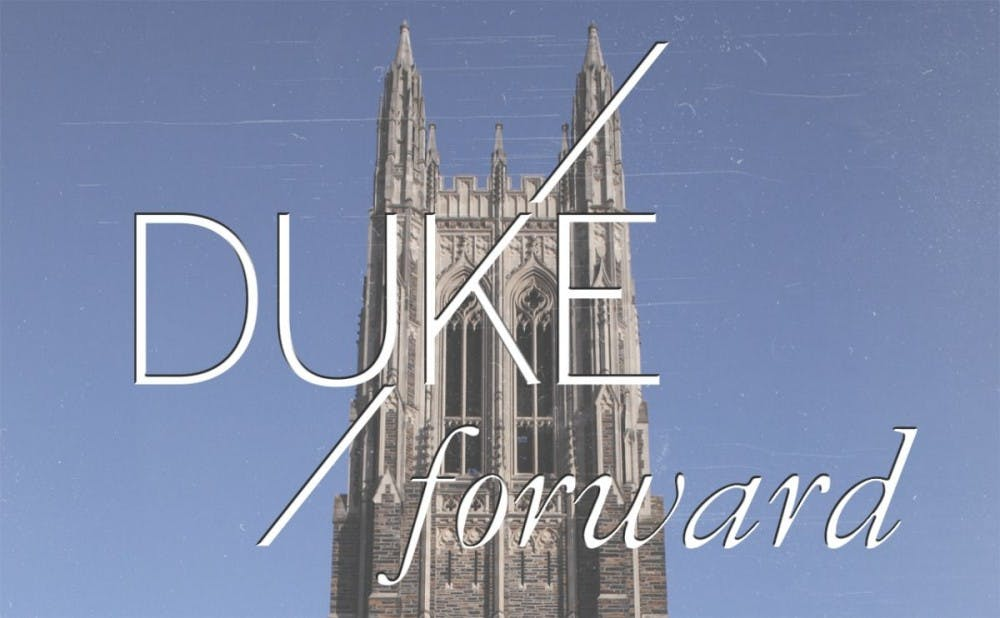 <p>The Duke Forward campaign aimed to raise&nbsp;$3.25 billion by June 30, 2017.&nbsp;</p>