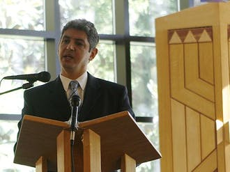 Ambassador Reda Mansour, consul general of Israel to the Southeast, emphasizes Israel as a diverse and dynamic nation during the annual Israel student conference at the Freeman Center for Jewish Life Sunday.