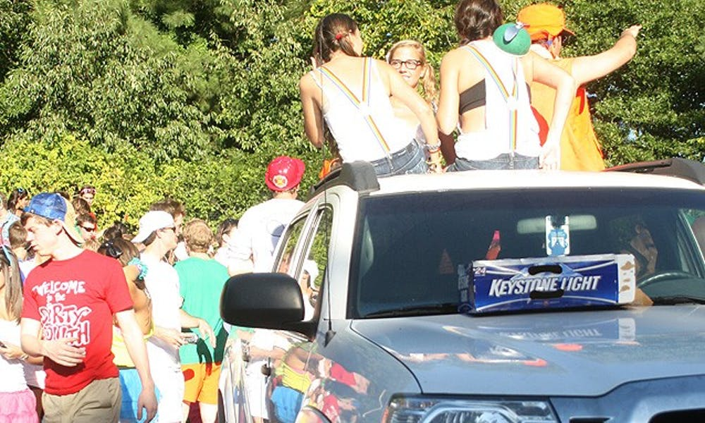 Due to new limits on alcohol and the cooperation of student groups, this year's first Tailgate went more smoothly than in previous years.