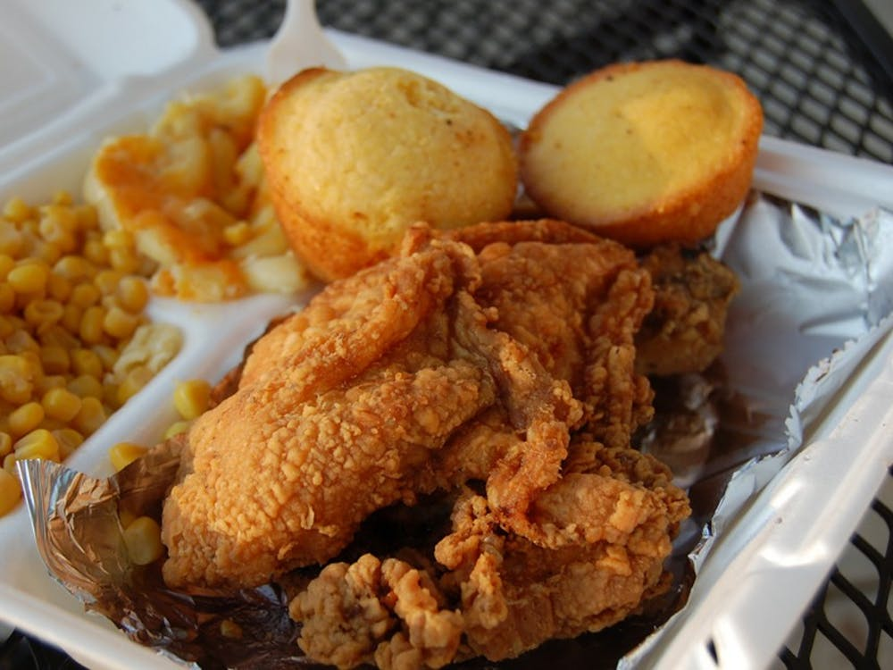 """Byron Hunt's """"Soul Food Junkies,"""" which screened at Perkins last week, takes a look at the emotional and health effects of classic soul food."""