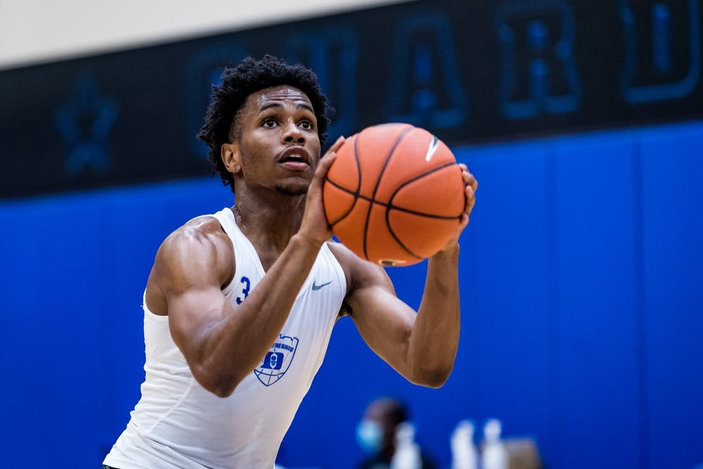 The Virginia native has big shoes to fill in the wake of the departure of Tre Jones.