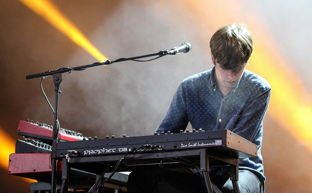 "James Blake, who just released his fourth studio album ""Assume Form,"" performs at the Melt! Festival in 2013."