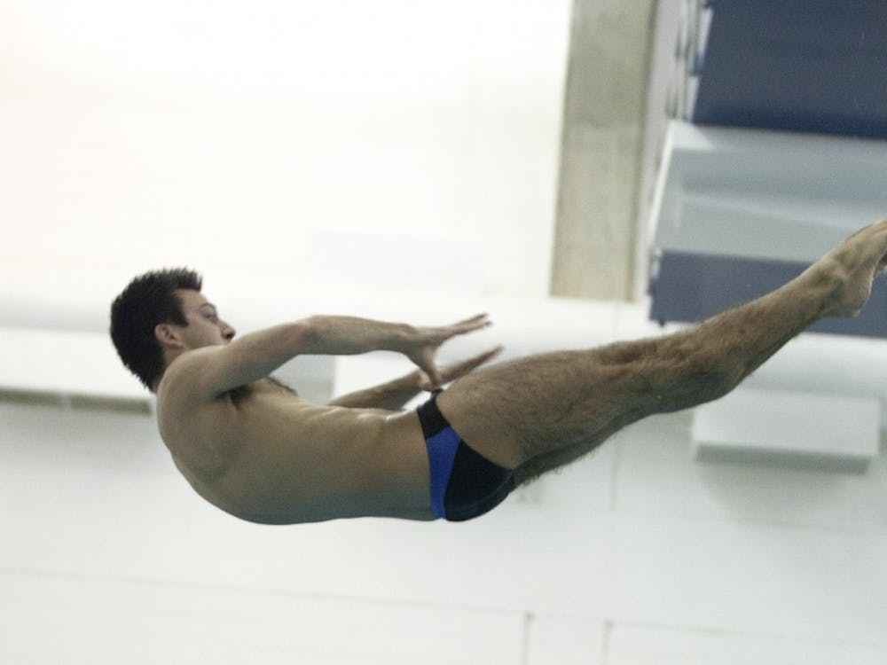 Senior and Olympic bronze medalist Nick McCrory will lead the Duke divers into action at the Nike Cup Invitational.