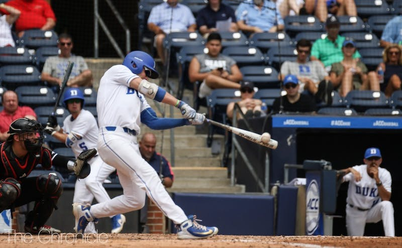 The Toronto Blue Jays chose slugger Griffin Conine with pick No. 52 in the MLB Draft.