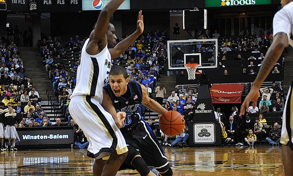 The Devils took down the Florida State Seminoles, previously undefeated in the ACC, Saturday at Indoor Cameron Stadium