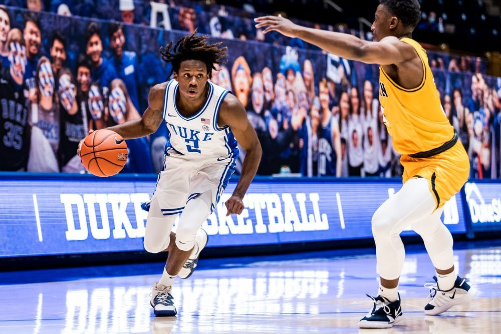 DJ Steward has really broken out of his shell of recent and is turning into one of Duke's primary scorers.