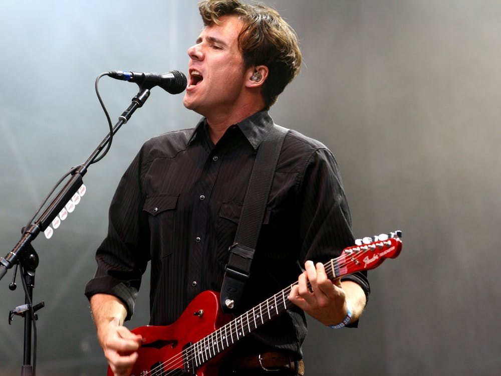 Both Third Eye Blind and Jimmy Eat World, pictured in concert in 2014, released albums in October.