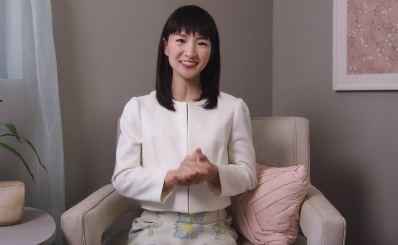 "Marie Kondo's new Netflix series ""Tidying Up"" premiered Jan. 1."