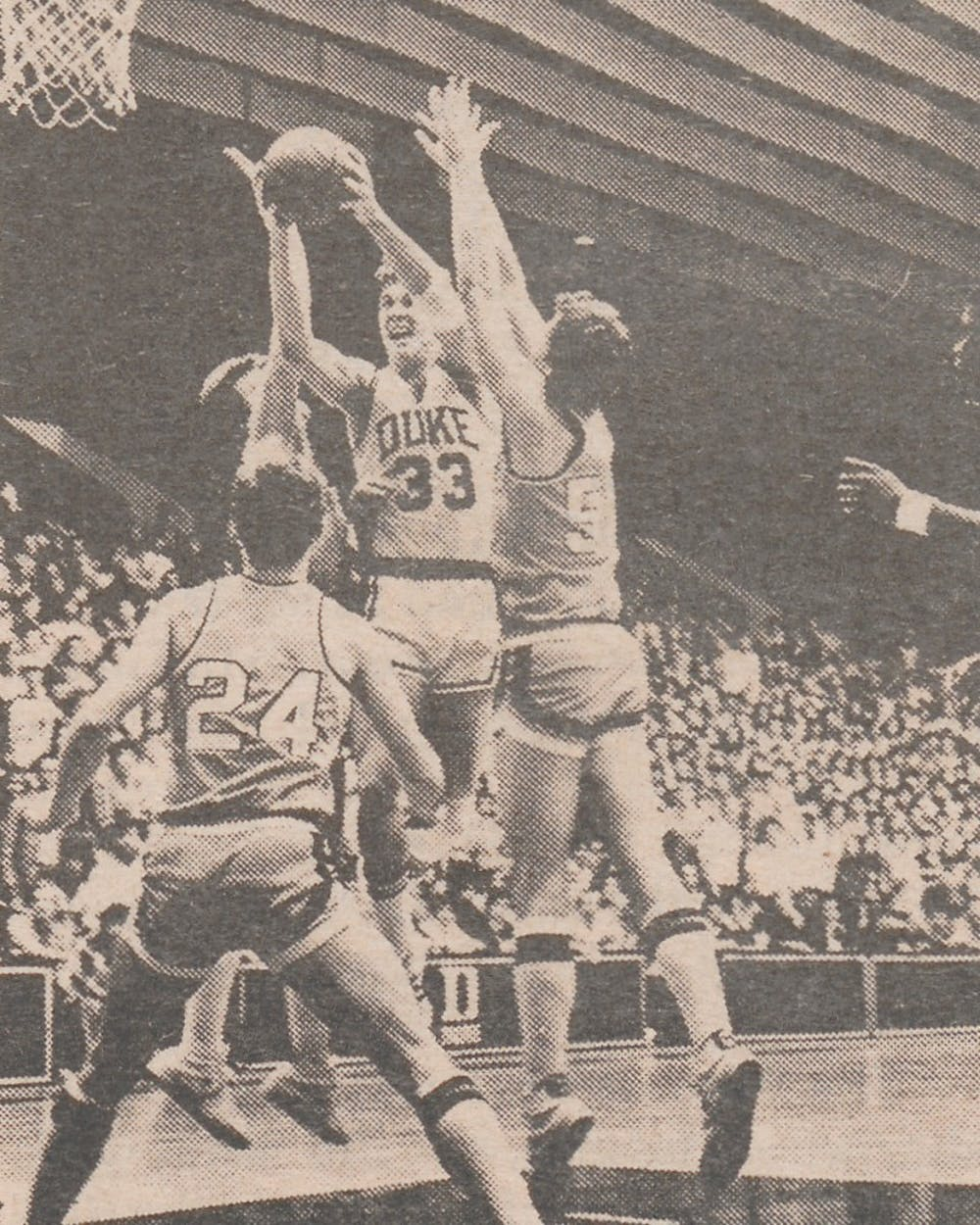 Kenny Dennard was a co-captain with Gene Banks for the 1980-81 Blue Devils.