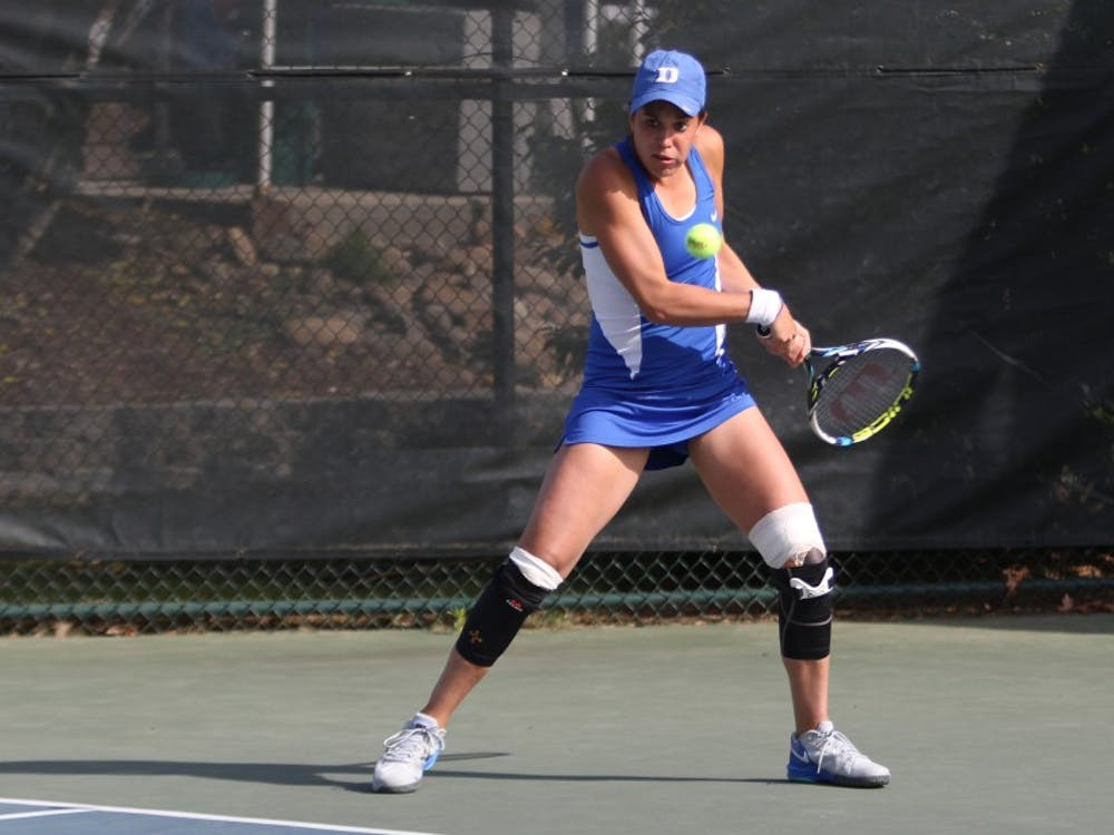 Senior Beatrice Capra will lead a young group of Blue Devils down Tobacco Road to the USTA/ITA Regionals beginning Thursday in Chapel Hill.