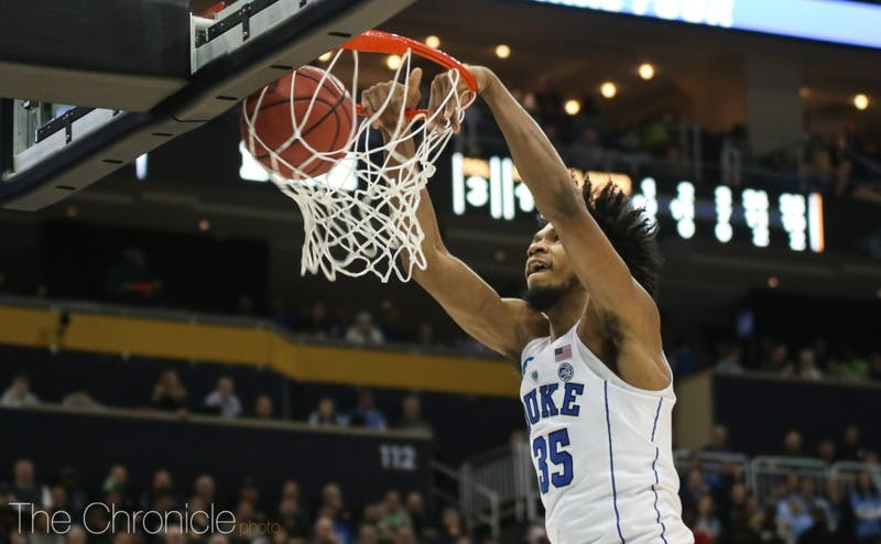 Duke has picked up two convincing wins early in the tournament.