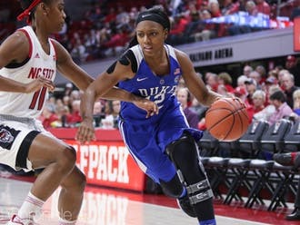 Mikayla Boykin averaged 6.8 points across 37 career games in Durham.