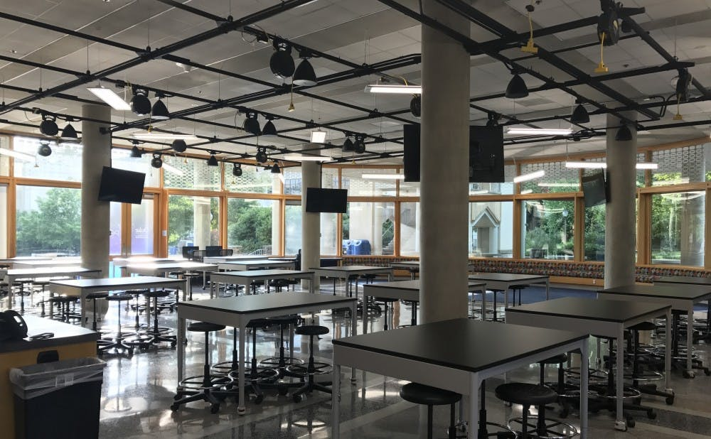 <p>Duke's Repair Café, which takes place April 7, held an interest meeting Monday in Pratt's engineering design space The POD (pictured). The event invites volunteers to help repair everything from jewelry to vacuum cleaners.</p>