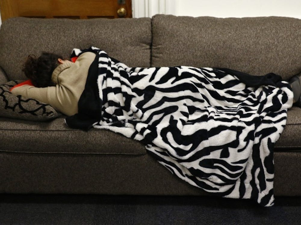 Approaching finals, students can be found sleeping at the Nasher, Bryan Center, Rubenstein Library and West Union.