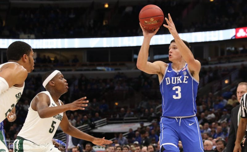 Although the Blue Devils have struggled as a No. 2 seed historically, Allen and Duke have owned potential Sweet 16 opponent Michigan State in recent years.