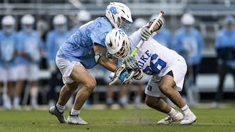 Freshman faceoff specialist Jake Naso has been a surprise star for the Blue Devils this season.