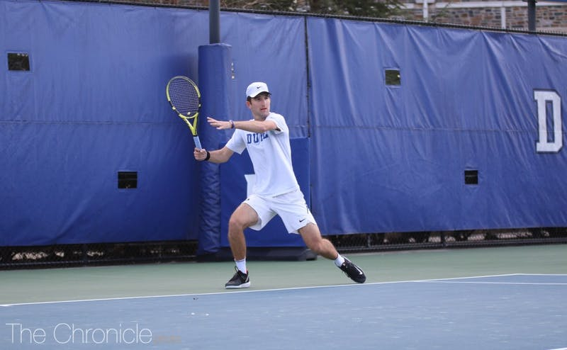 Sean Sculley narrowly dropped the deciding match against Florida State.
