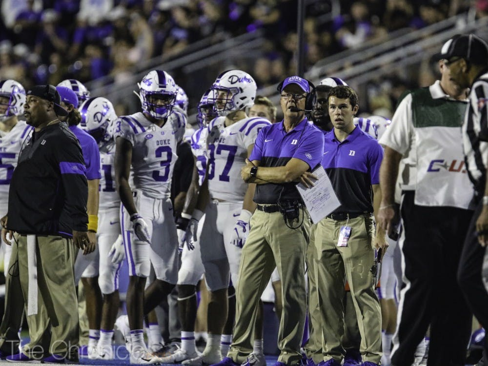 Coach Cutcliffe's time around the NFL and NCAA football scenes provides him with a competitive edge in the recruiting process.
