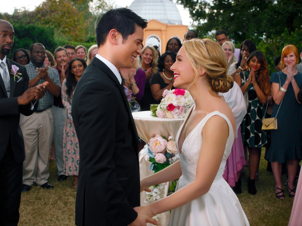 """<p>Marc Meyers' """"All My Life,"""" staring Jessica Rothe and Harry Shum Jr., delivers the true story of Jennifer Carter and Solomon Chau.</p>"""