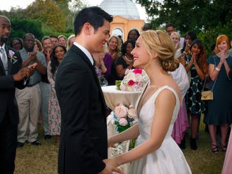 """Marc Meyers' """"All My Life,"""" staring Jessica Rothe and Harry Shum Jr., delivers the true story of Jennifer Carter and Solomon Chau."""