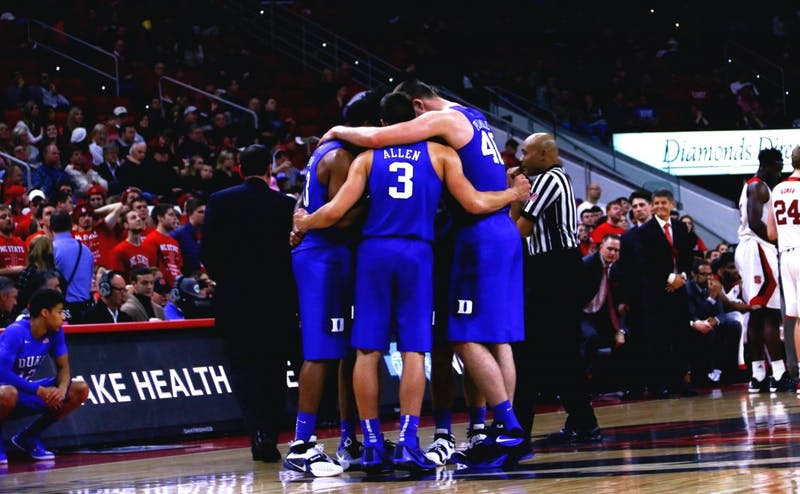 The Blue Devils outrebounded N.C. State 31-28 Saturday and outhustled the Wolfpack to loose balls and long rebounds that allowed Duke to get out in transition.
