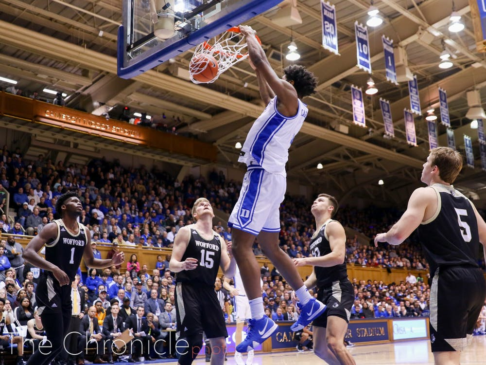 The Blue Devils will look to extend their winning streak to five Saturday.