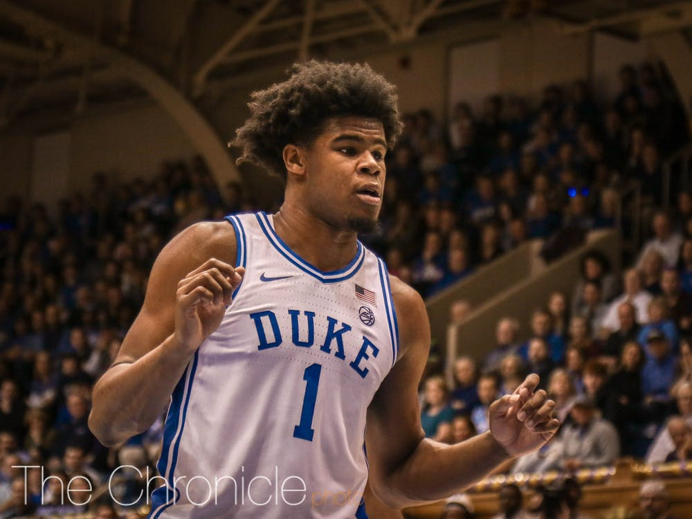<p>Despite not playing in the paint in high school, Carey is quickly developing inside.</p>