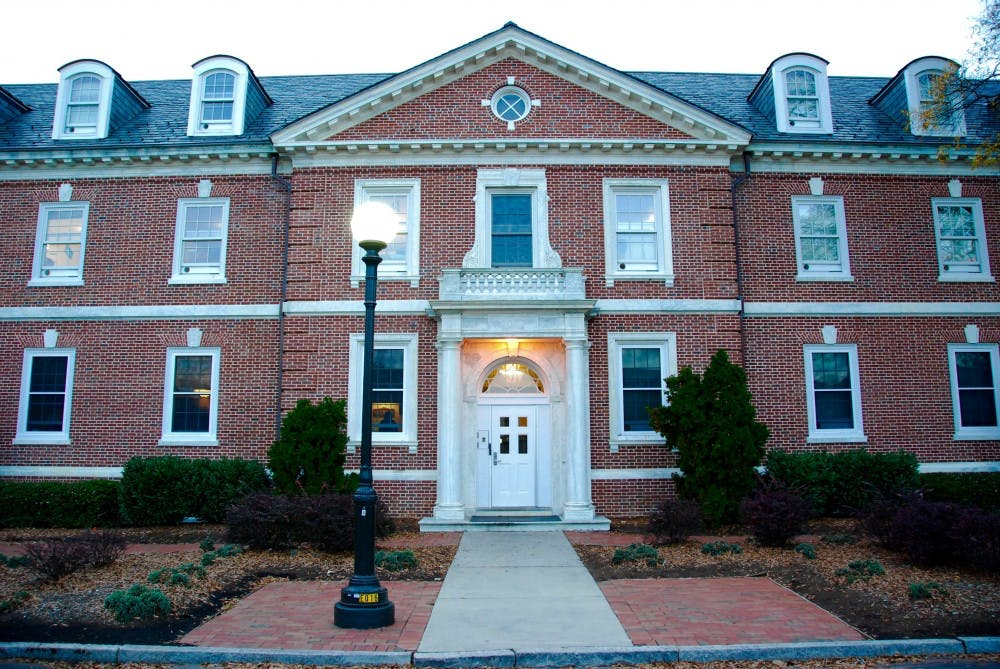 <p>Giles residence hall was the site of drama Sunday, when the dormitory was evacuated after a fire extinguisher was placed in an oven.</p>