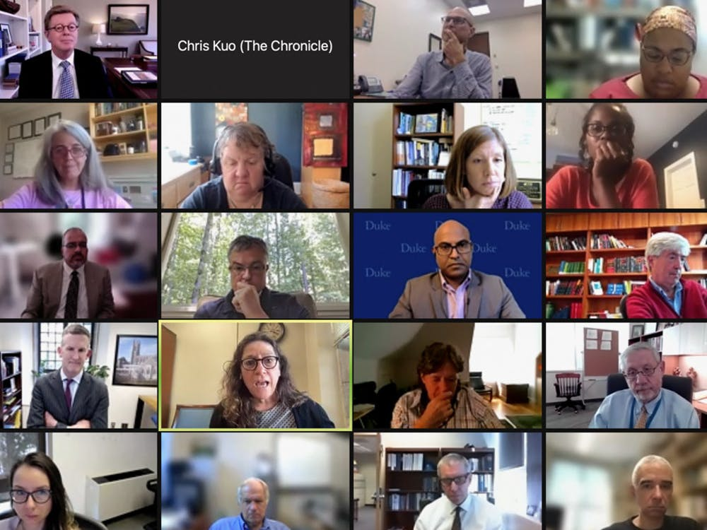 <p>Faculty members discussed COVID-19 updates at Thursday's Academic Council meeting.&nbsp;</p>